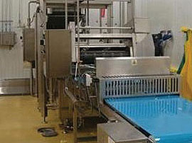 Continuous Belt Cookers - High care chiller and traversal cutter