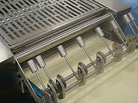 Continuous Belt Cookers - Double Calibration and longitudinal cutting of lasagne sheet