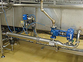 Continuous Belt Cookers - Integrated shell-in-tube heat exchangers