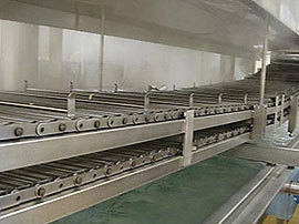 Continuous Belt Cookers - Heavy duty stainless steel mesh conveyor belt