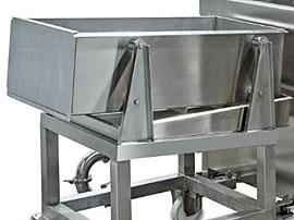 Vortex Cook, Quench & Chill - Vortex D3 Mini- Draining table