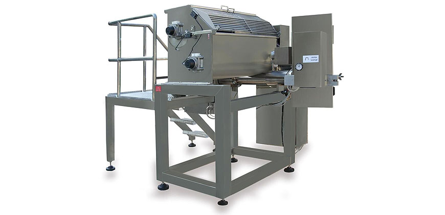 Pasta Making & Forming - Tecna Large Scale Fresh Pasta Equipment - Extruder PR 250