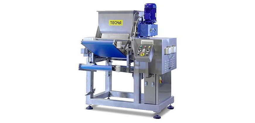 Pasta Making & Forming - Tecna Large Scale Fresh Pasta Equipment - Kneader Sheeter's