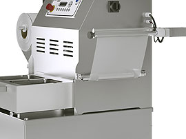 Tray Sealing & Thermoforming - Oceania - Automatic film rewinder
