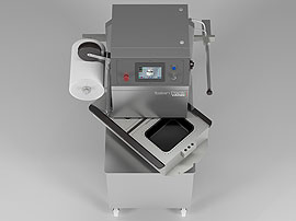 Tray Sealing & Thermoforming - Semi Automatic - Olympus - Double vacuum chamber