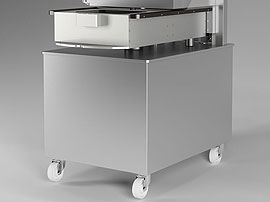 Tray Sealing & Thermoforming - Semi Automatic - Olympus - Stainless steel construction