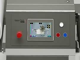 Tray Sealing & Thermoforming - Perseus - PLC Touch screen