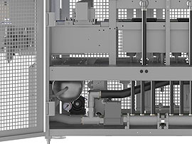 Tray Sealing & Thermoforming - Polaris - Gas buffer tank