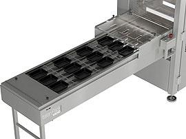 Tray Sealing & Thermoforming - Polaris - Tray infeed system