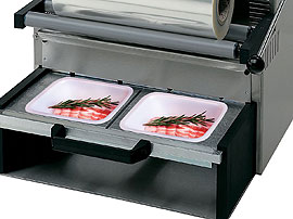 Tray Sealing & Thermoforming - Simultaneous tray packing