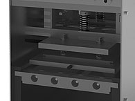 Tray Sealing & Thermoforming - Manual - Poseidon - Mechanical sealing system