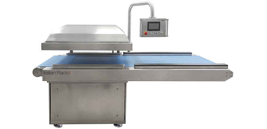 Vacuum Bag Packing - Conveyorised Chamber Vacuum Packing Machines - Atlantis Automatic 1000