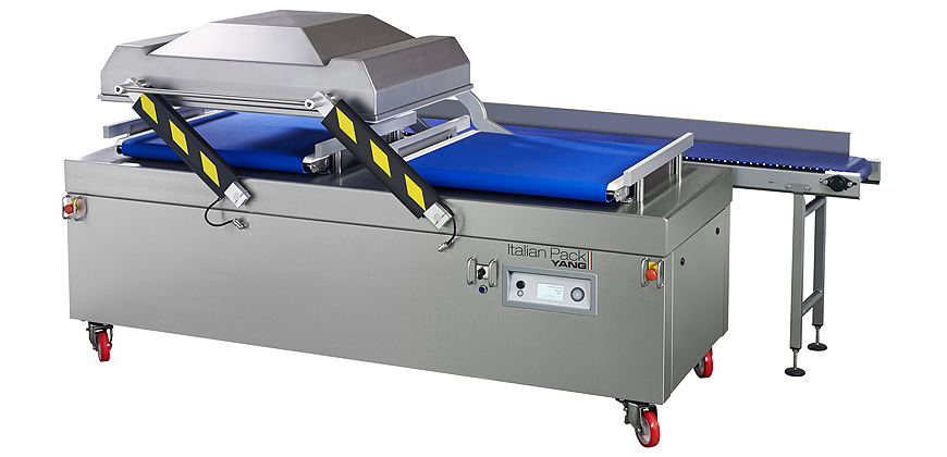 Vacuum Bag Packing - Conveyorised Chamber Vacuum Packing Machines - Atlantis Duet 2-290